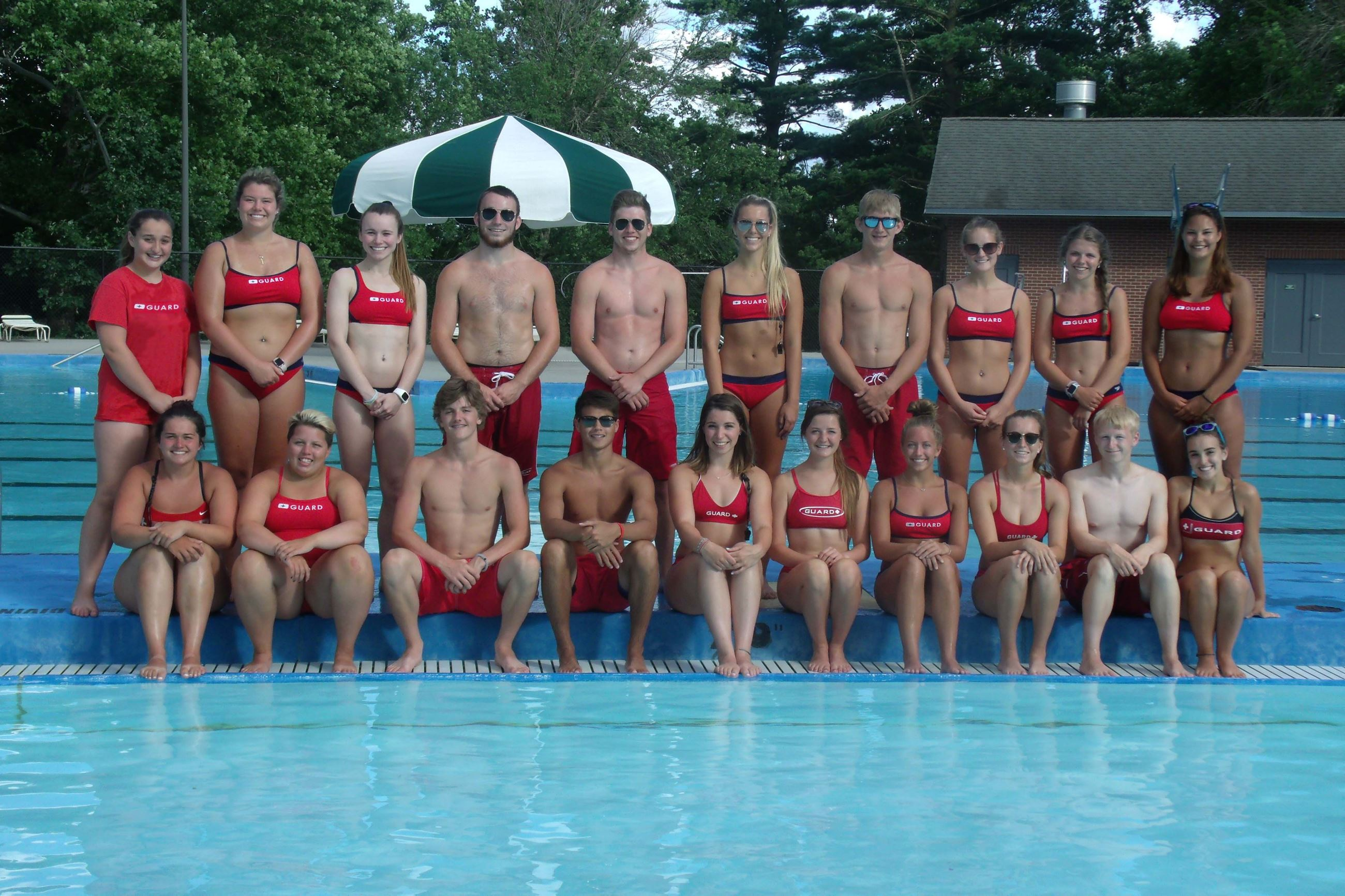 2018 Maytag Pool Lifeguard Team
