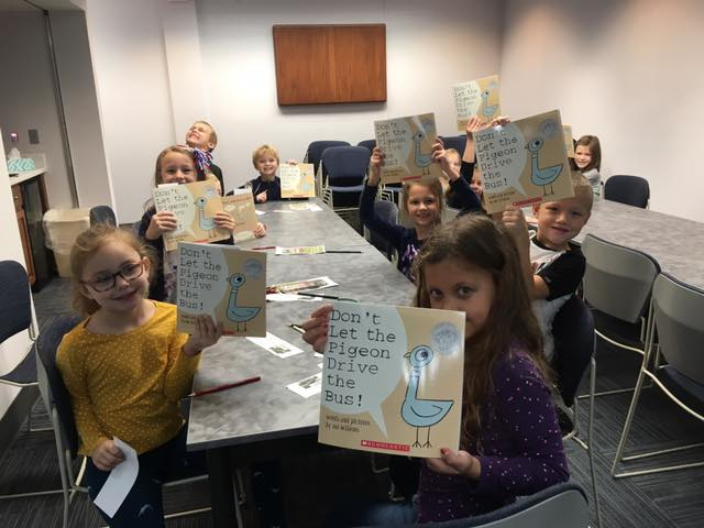 First Graders Visit the Library