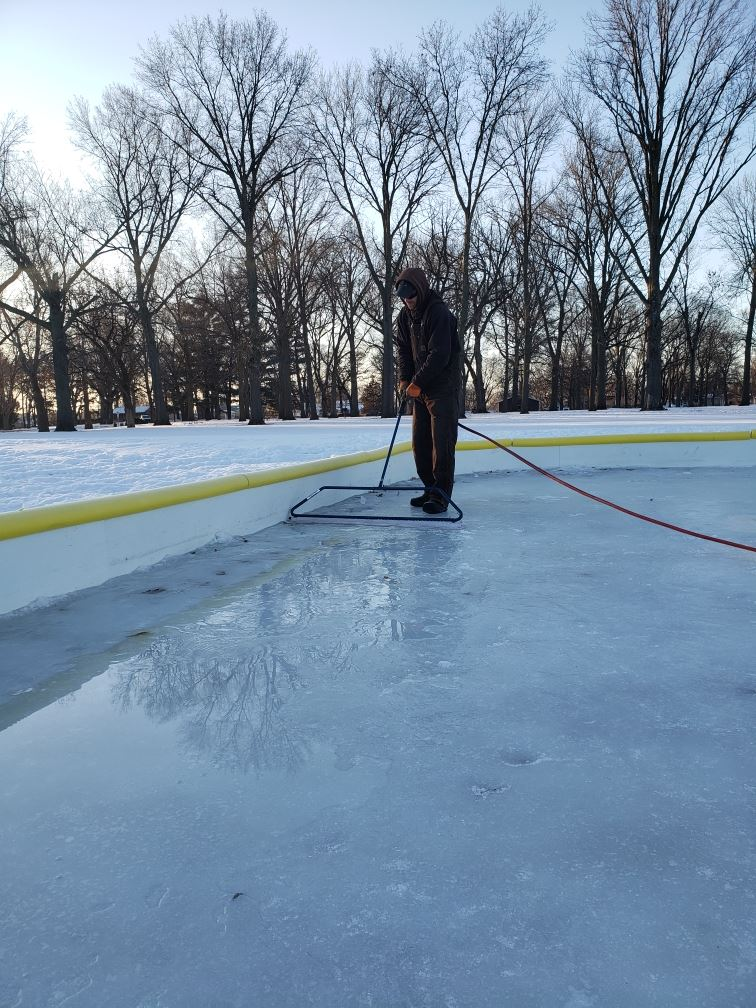 Ice Rink Resurfacing
