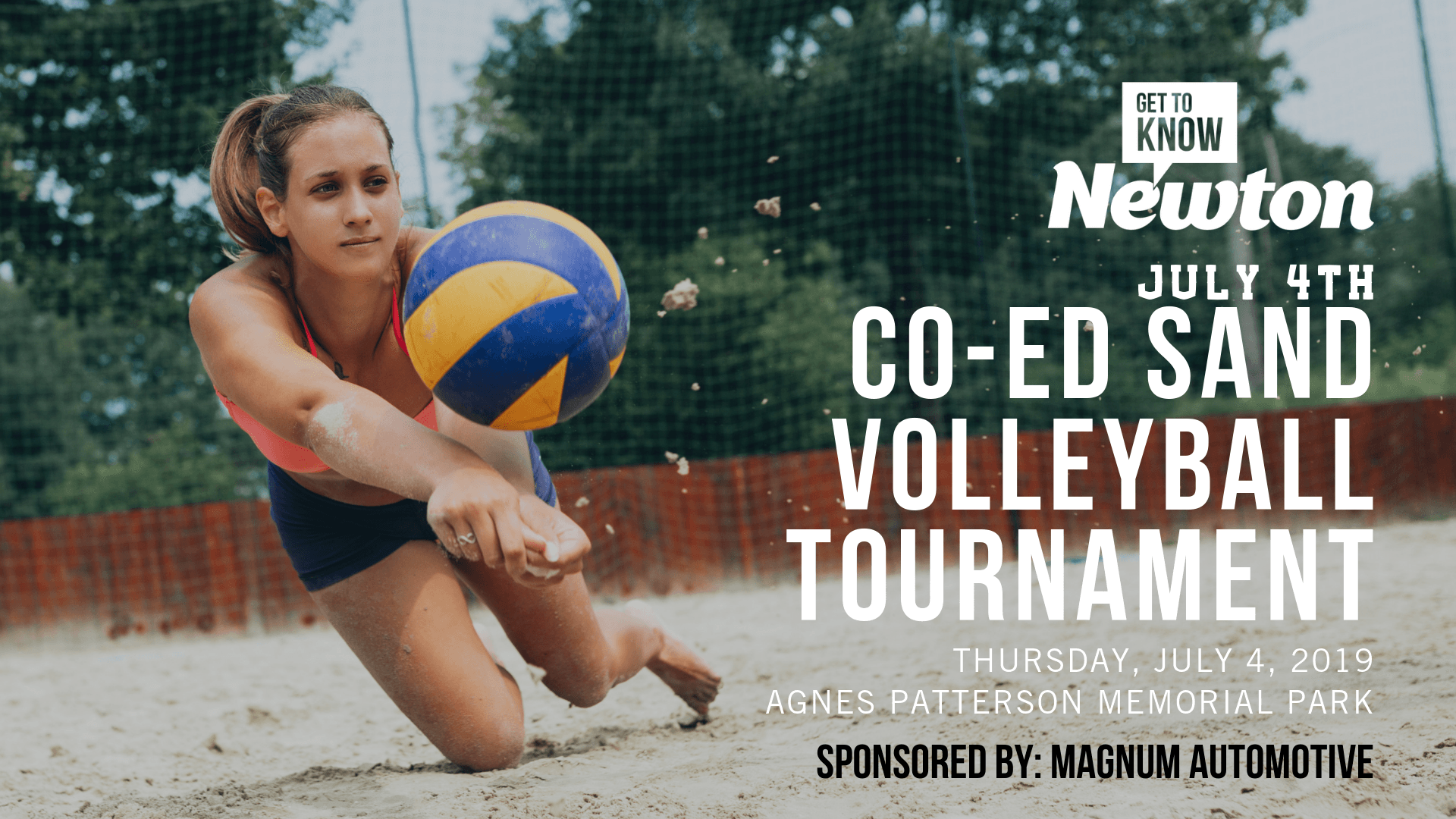 Co-Ed Sand Volleyball Tournament
