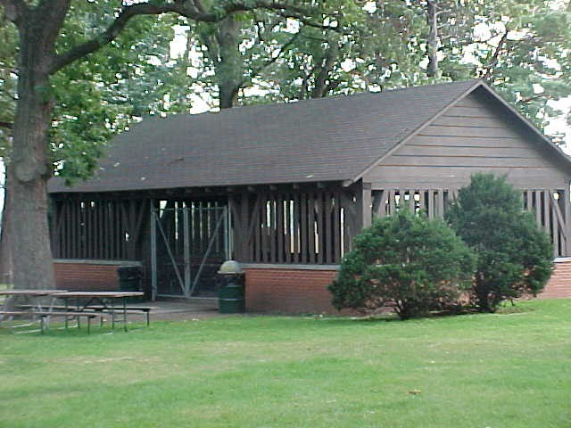 Maytag Park South Shelter